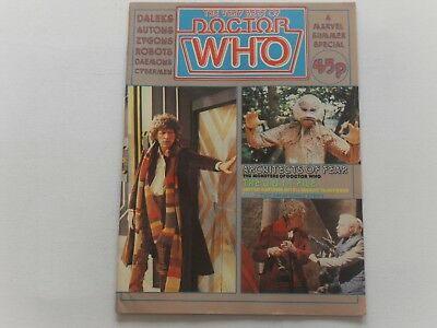 Doctor Who : The Very Best Of  Summer Special 1981 Marvel Comics