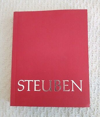 Vintage STEUBEN GLASS COMPANY ADVERTISING SALES CATALOG & PRICE GUIDE 1979-1980