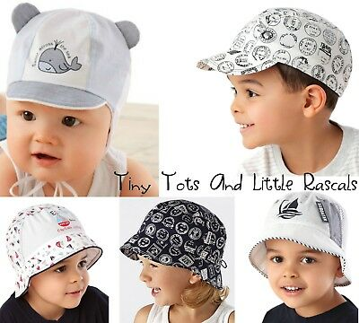 Baby Boy Toddler Kids Holiday Beach Summer Cotton Sun Cap Hat newborn - 8 years