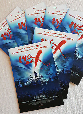 """X JAPAN - Special WEMBLEY CARDS """" WE ARE X """" collection"""