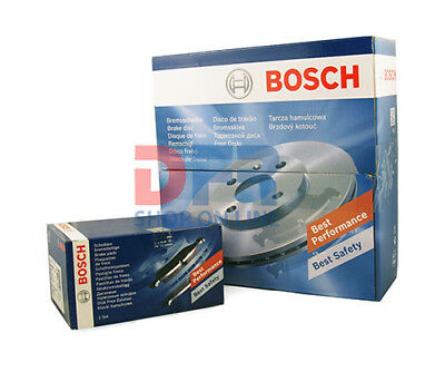 Kit Dischi 240Mm + Pastiglie Pattini Freno Bosch Renault Clio Megane