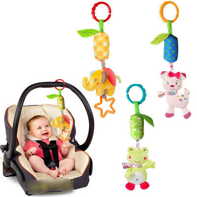 Wind Bell Rattles Baby Stroller Bed Bells Cart Accessories Lovely Plush