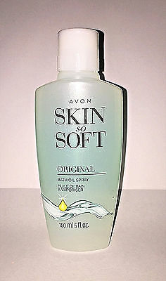 Avon Skin so soft bath oil spray Original Scent 5 oz