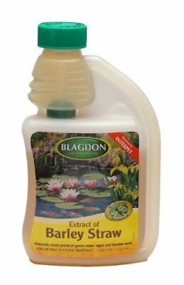Blagdon Extract of Barley Straw Natural Algae Treatment for Your Pond, 500 ml