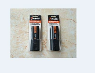 2 x Paslode 404717 Impulse Oval Rechargeable 6V Battery for IM200-F18, IM250-A