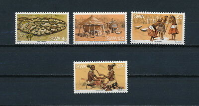 South West Africa 402-5 MNH, Home & Culture, 1977
