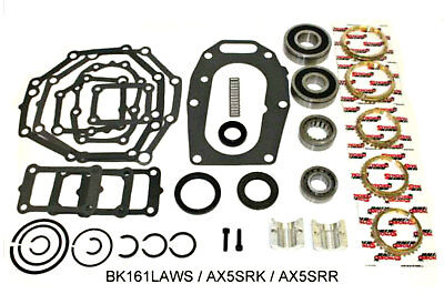 Jeep Ax5 5 Speed Transmission Bearing Kit With Synchro Rings 5th