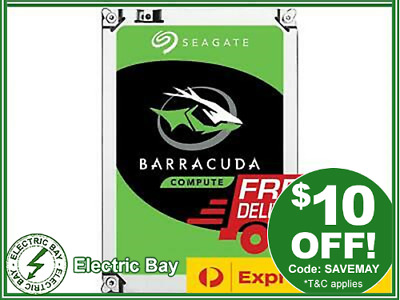 Seagate Barracuda 1TB 2TB 3TB 4TB SATA 3.5'' Internal PC Desktop Hard Drive HDD
