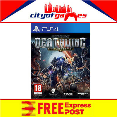Space Hulk Deathwing Enhanced Edition PS4 Game New & Sealed In Stock