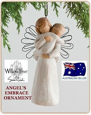 ANGELS ANGEL'S EMBRACE ORNAMENT Willow Tree Figurine By Susan Demdaco Lordi NEW