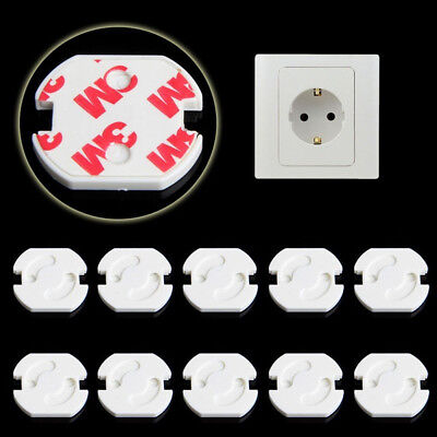 10x Good EU Power Socket Electrical Outlet Baby Kids Safety Guard Protection