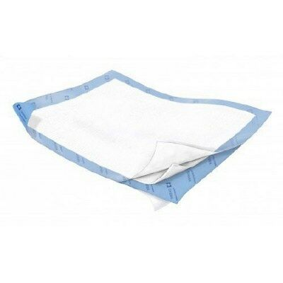 Underpad Wings Quilted 30 X 36 Inch Disposable Fluff Heavy AbsorbencyBG/10