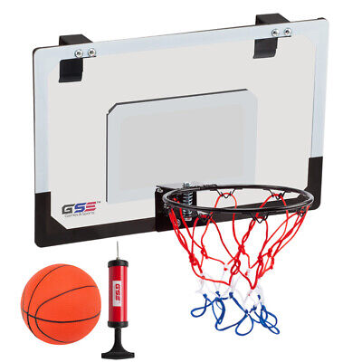 Home Office Wall Over The Door Mini Basketball Hoop Backboard With Ball U0026  Pump