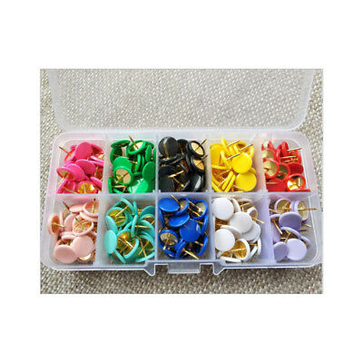 300pcs  plastic-coated plate Pinboard photo Tear nails Tear pins colorful