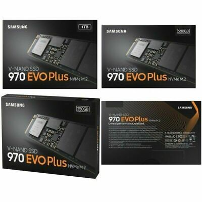 SAMSUNG 250GB/500GB/1TB 970 EVO Solid State Drive M.2 SSD Up to 3200 MBps NVMe