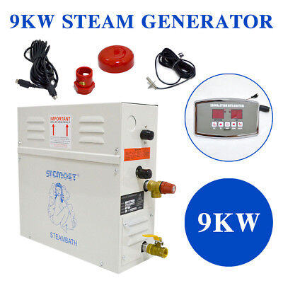 Automatic 220V Steam Generator/sauna Bath Home Spa Shower St-135M 9Kw Controller