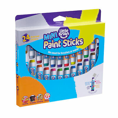 Little Brian Paint Sticks Mini Assorted Colours 24 Pack