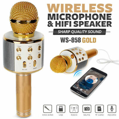 Microfono Wireless Professionale Per Karaoke Wireless Musica Cantare