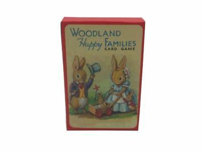 Card Game - Woodlands Happy Families