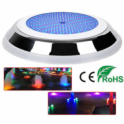 18W 252LED 100% Resin Filled Swimming Pool Spa Hot Tub Light Underwater Show