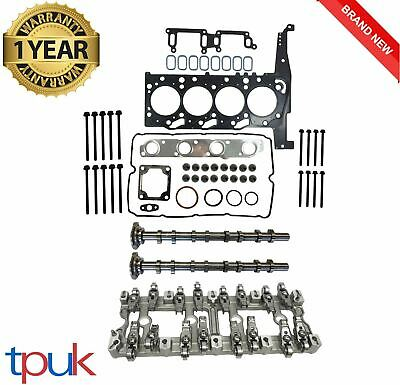 Ford Transit Mk7 2.4 Cylinder Head Rebuild Set 2006 On + Cams Rocker Carrier