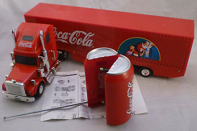 Coca-Cola COKE truck Christmas radiocomando Remote Control 53cm with lights MIB