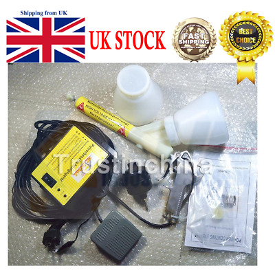 Original Portable Powder Coating System Type 02 Spray Gun IN UK FAST SHIPPING