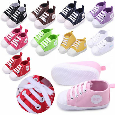 Fashion Bady Infant Toddler Baby Boy Girl Soft Sole Crib Shoes Sneaker Newborn