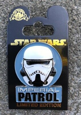 Disney Parks Trading Pin IMPERIAL PATROL TROOPER Han Solo A Star Wars Story