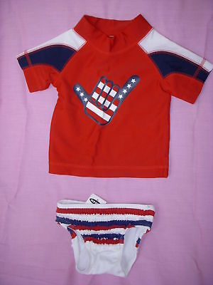 Girls Size 6-12 Mth *OLD NAVY* 2-Piece Swimsuit NWT