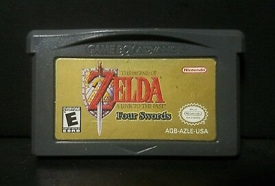 Legend of Zelda: A Link to the Past (Nintendo Game Boy Advance, 2002) GBA Cart