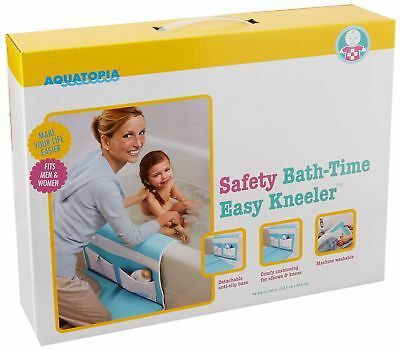AQUATOPIA Safety Bath Time Comfy Cushioned Easy Kneeler with Skid Resistant