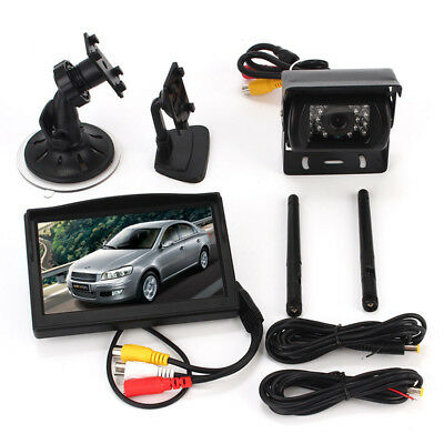 Wireless for RV Truck Backup Backup Camera Accessories Rear View Car Monitor