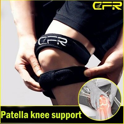 Adjustable Knee Wrap Protector Gym Patella Tendon Support Brace Strap Band SFC