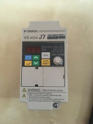 Omron cimr-j7azb0p2 Frequency Converter VS MINI J7 Inverter 0,25 KW