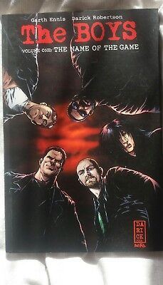 The Boys Volume 1 - The Name of the Game- Garth Ennis
