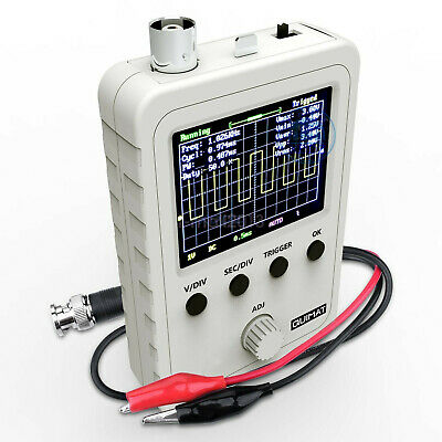 New Assembled DSO150 2.4 inch LCD Display Digital Oscilloscope with Probe