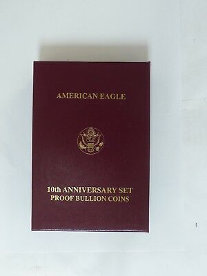 American Eagle 10Th Anniversary Proof Bullion Coins (Box Only)