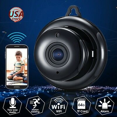 1080P Wireless WiFi Smart IP Camera Night Vision Home CCTV Security Baby Monitor