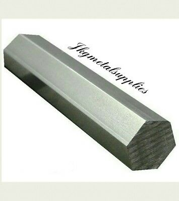 "1 1/2"" - 38.1mm diameter - CHEAP MILD STEEL HEXAGON BAR/ROD- various lengths"