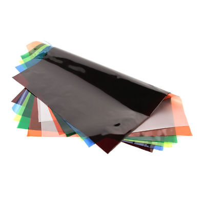 Colors Lighting Filter Gel Sheets 40x50cm For Video Studio Camera Photography