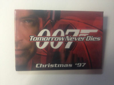 007 Tomorrow Never Dies Promotional Pin