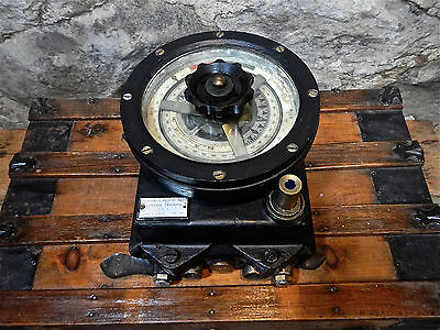 Xx Rare Large Antique Wwii Maritime Ship Training Compass Nautical Sailboat Sea