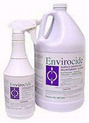 Surface Disinfectant Cleaner Envirocide Liquid 1 gal Container Manual Pour Case4