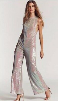 9653d6bd5083 FREE PEOPLE SEQUIN Jumpsuit -  125.00
