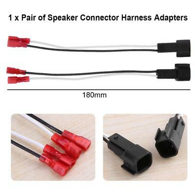 2x Car Speaker Connector Harness Adapter SP 5600 72 5600 car audio speaker wire harness connectors for chevy ford isuzu kia
