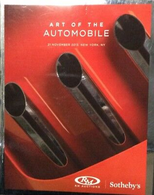 Rm Auctions Sotheby'S Art Of The Automobile Nov, 21. 2013 New York Catalog