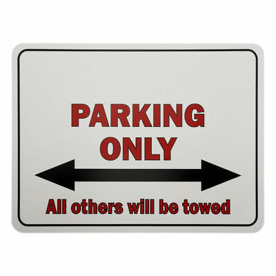 PVC - Parking Signs Parking Only - with their Text of Choice S2211