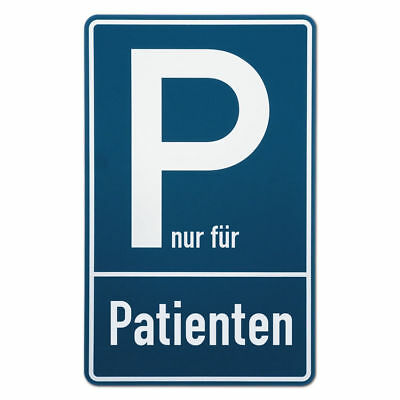 Parking Spot Sign Patients S3510