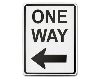 Traffic Signs USA - One Way Left S5700